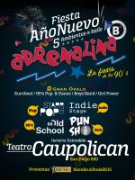 Fiesta Año Nuevo 2015 Adrenalina